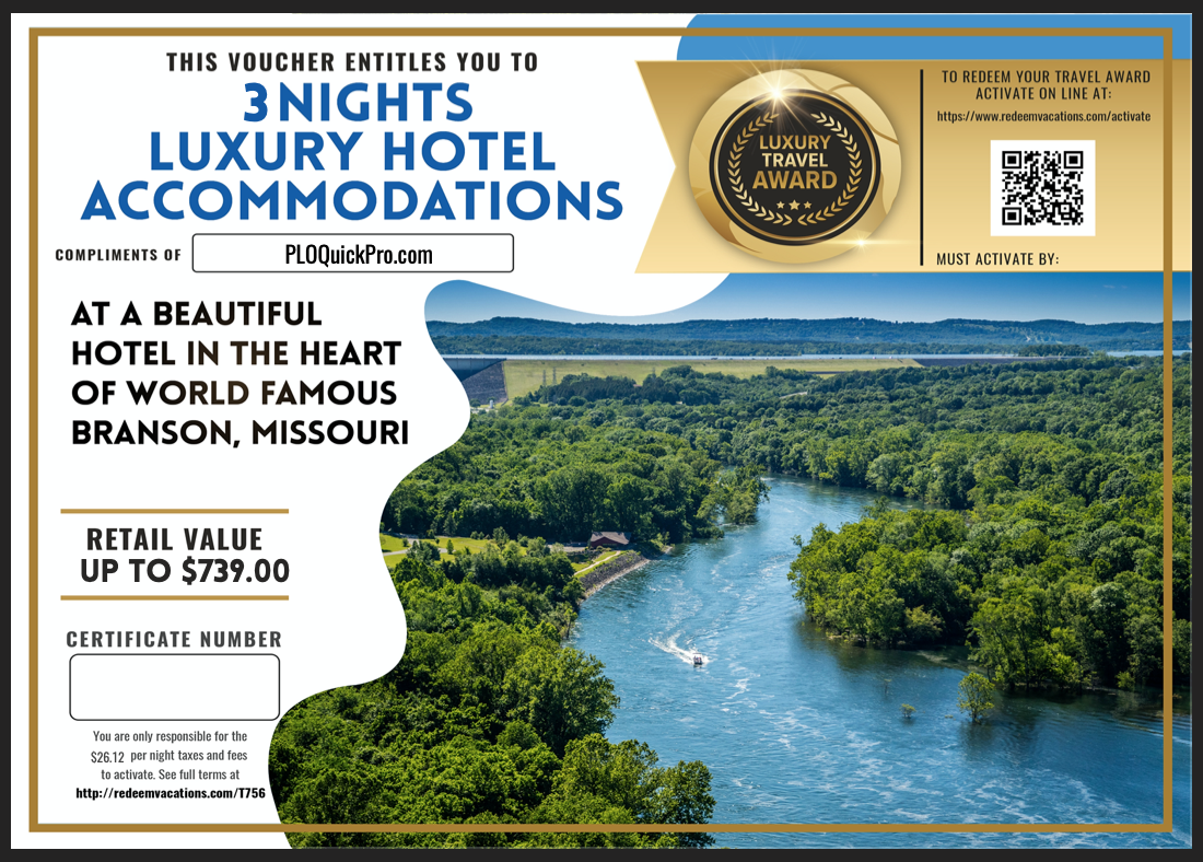 WCP Vacation Package